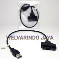 Jual Converter Kabel Sata To Usb 3.0 34Cm For Hdd 2,5Inc Promo