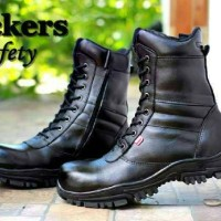 Jual Sepatu Kickers Boots Tinggi PDL Safety Boot Pria G04 Fashion Pria