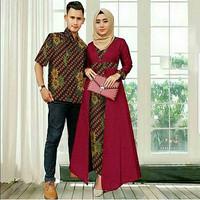 Katalog Harga Baju Gamis Couple Suami Istri Terbaik 2019