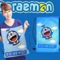 Tas Doraemon Ransel Serut Lucu Produksi Sendiri Tote Go Berkualitas