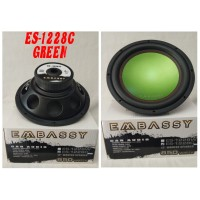 Embassy 1288 spk SPEAKER sub Super SUBWOOFER MOBIL 12 Inch BASS Ampli