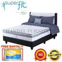 Comforta Set Kasur Spring bed Super Fit Platinum 100x200