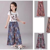 Celana Kulot Batik Anak 4 - 6 Tahun . PC1187 Diskon