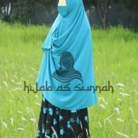 baju gamis syari busana muslimah dress syar i bahan wolfis woolpeach