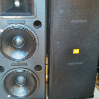 Speaker Passive JBL SRX 725 Doble Woofer 15 Inch USA Northridge KW 1