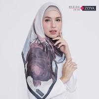 Medina Zein for Zoya Kerudung Segi Empat Cantik Fleta Scarf TERMURAH