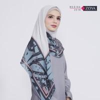 Medina Zein for Zoya Kerudung Segi Empat Cantik Kayona Scarf TERMURA