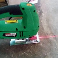 Sale! Mesin Jigsaw Laser / Gergaji Elektrik Modern With Laser Guide