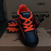 Gibor Sepatu Futsal Anak Hitam Oranye Original Murah Sale Puma Nike