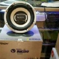 paket audio venom turbo/power 4 channel/subwoofer 12 in/speaker split