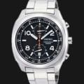 jam tangan pria Seiko Chronograph SNN209p1 ( swiss army bonia fossil )