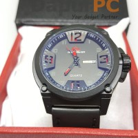 Jam Tangan Quartz Quiksilver - Black/Red