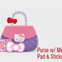 Happy Meal Mainan McDonald Sanrio Dompet Hello Kitty Purse memo sticke