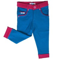 (Sale) Celana Anak Perempuan 7/8 Colorful Stretch Denim IM2 Biru