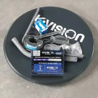 Premium produk ANTENA KU BAND K VISION ODU RECEIVER K VISION K2000 CA