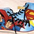 Sepatu lukis high converse allstar superman