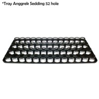 Tray Semai Bibit Anggrek Untuk Pot Flexible Anggrek 1.5 - Isi 52 Hole