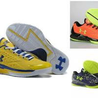 Sepatu Basket Underarmour Curry One Low Premium Original