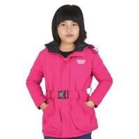 Jaket Parka Anak Perempuan CDG 130 Pink
