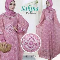 Kaftan Sakina Cantik Gamis Murah Berkualitas untuk Lebaran/Pesta PROMO