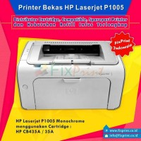 Printer Bekas HP Laserjet P1005