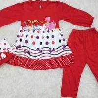Baju muslim bayi / muslim anak / stelan bayi muslim duc Gamis terbaru