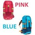 QUECHUA Tas Gunung / Carrier 40 Liter Pink Blue 100% ORI DECATHLON