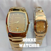 JAM TANGAN COUPLE RADO JUBILE TUNGSTEN PREMIUM AAA+