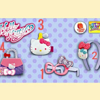 Mainan Happy Meal Mcd Mei 2018 hello kitty series