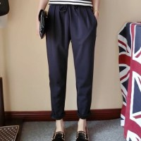 Celana Jeans Pria celana panjang bahan wanita pants jogger kulot pants