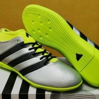 Limited! Sepatu Futsal Adidas ACE 163 Primemesh Silver