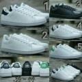 Sepatu Adidas Stansmith Cowok Cowo Neo Stan Smith Casual Classic White