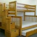 Tempat tidur tingkat zakia 3 kasur