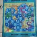 Giant Game SNAKES & LADDERS Mainan Ular Tangga ukuran 80x70cm