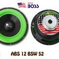 Speaker Subwoofer American Boss 12 Inch ABS 12 BSW 52