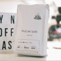 KOPI ROBUSTA - PUCAK SARI - ROASTED BEAN 1 KG