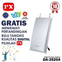 PX DA-3520A ANTENA DALAM LED TV DIGITAL INDOOR DA 3520 A DVBT2