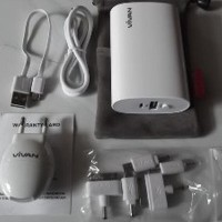 Power bank vivan U06 6600mah POWERBANK 6600 MAH Limited
