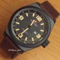 Jam Tangan Swiss Army SA-5028M Brown LEather Kw Super Barang Oke