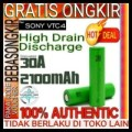 Authentic High Drain Sony Vtc4 30A - 2100Mah Vtc 4 2100 Mah 30 A