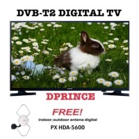 SAMSUNG LED TV 43 Inch Digital FHD 43N5003 + Antena PX DA-5600