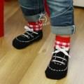 ACG075 kaos kaki anak bentuk sepatu lucu bagus