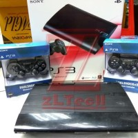 PS3 SLIM 160GB (OFW) +2 Stick Wireless FULL Game CFW