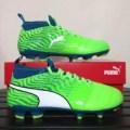 BARU Sepatu Bola Anak Puma One 18.3 FG Junior Green 104539-03 Original