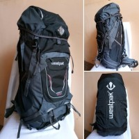 Tas Ransel gunung Carrier single frame 60L WESTPAK 82WP95 + Rain cover