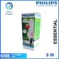 Lampu Philips Essential 8W 8 W 8 Watt 8Watt Putih