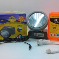HEAD LAMP / SENTER KEPALA KISEKI CK258 + CHARGER
