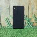 Case Sony Xperia Z2 - Slim Case Black Matte Softcase Full Black Anti M