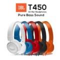 LARIS JBL ON EAR T450 OEM Headphone JBL Headset JBL PURE BASS