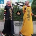 Gamis Kaos Babyterry - Juice Rania Maxi